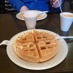 Gaufre du petit déjeuner