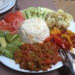 Une salade à la Khadija
