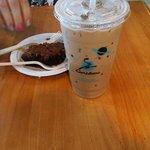 Iced Turtle Mocha & Triple Chocolate Brownie!