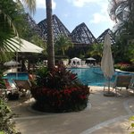 Pool by the Grand Mayan Lobby