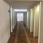 Los pasillos son feísimos!!