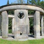 WW1 memorial at Sudfriedhof