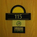 Smoking room!!!