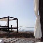 Espace détente avec vue panoramique proche du Sunset bar et sa piscine (11ème étage)