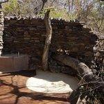 outdoor bath room