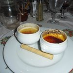 Creme caramel & Creme brulee