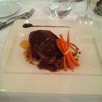Steak at the Gaudi restaurant.