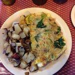 #32 Zucchini, mushrooms, spinach, and avocado.