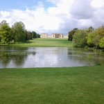 Stowe house and lake
