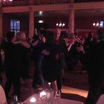 The dancing is underway.