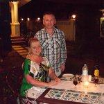 Evening meal at Presa Di Goa
