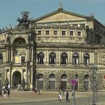 Semperoper during the day.