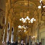 The corridors of the opera house.