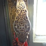 the door handle at the museum