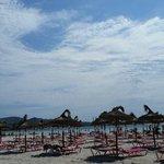 Lovely beach only 15 mins walk away