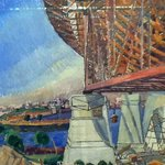 Painting of the Harbour Bridge