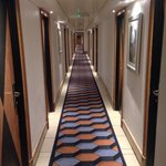 Corridor to rooms