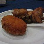 suppli and artichokes
