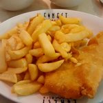 Haddock and Chips (Smaller Portion!!)