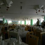 All inclusive dining area, nice atmosphere, clean tidy, lovely food, fab waiters