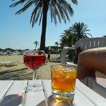 Beach bar - lovely