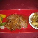 Pluma de porc ibérique sauce échallottes et grenailles