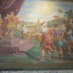 Fresco inside Baptistry