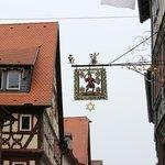 Licensed to serve beer, Haus zum Riesen, Miltenberg, July 2013