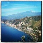 Mount Etna . Taormina