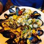 Shellfish pasta
