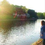 lovely lake at sefton park