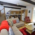 Inside Granaries cottage