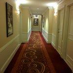 Hallway to room.