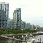 Vistas panoramicas desde la bahía, Vancouver