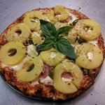 Great pizza, create your own many toppings to choose from