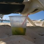 Mojito in the sand