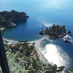 View of Taormina Beach