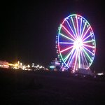 The sky wheel froom the beach