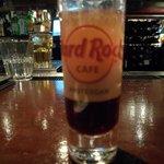 Hard Rock shot in the bar