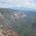View from Oak Creek Canyon overlook