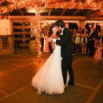 First dance at Te Awa Winery