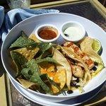 Yummy fish tacos!