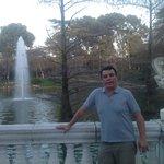 chafariz em frente ao Palácio de Cristal