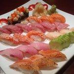 Omakse Sushi Moriawase!