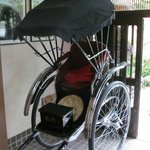Rickshaw used for special occasions