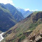 Nevados y cañón del Apurimac