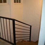 Stairs in Junior suite (3rd floor walk up + stairs)