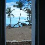 Ocean view suite looking onto beach