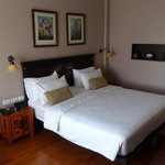 Nice bed at Sala Arun