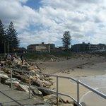 View to Elura beach